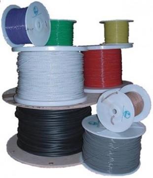Câble électrique aéro Tefzel blanc M22759