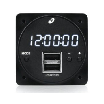 Horloge digitale - chargeur USB 57mm Mid-Continent MD93
