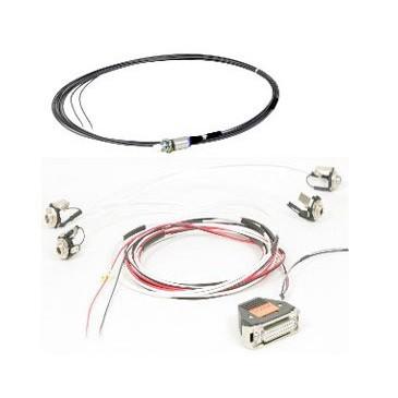 Harnais de câble pour VHF Becker AR62XX et casque standard