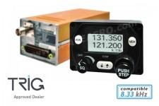 Radio VHF Trig TY91 8.33kHz + câblage