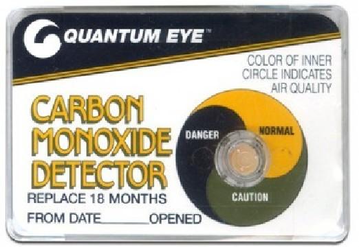 Détecteur de monoxyde de carbone Quantum Eye