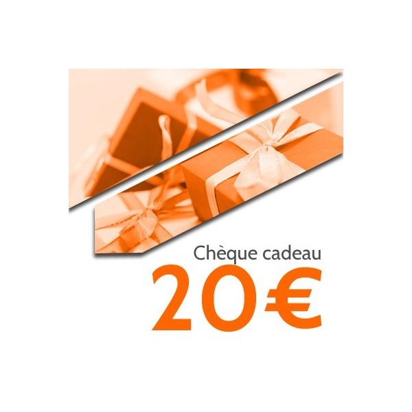Chèque cadeaux OpaleAero 20€