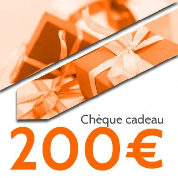 Chèque cadeaux OpaleAero 200€