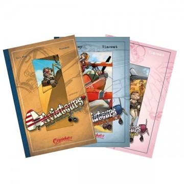 Pack trois tomes Aviateurs T1 au T3