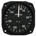 Anémomètre pour ULM, CNRA 30-150 kph, 80 mm