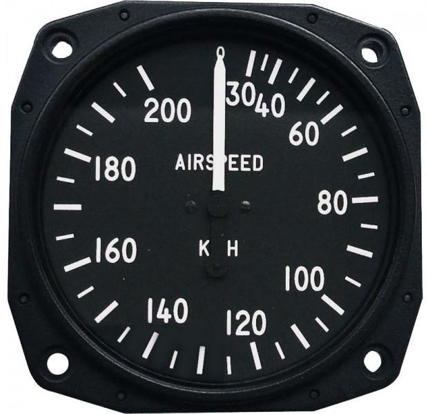 Anémomètre pour ULM, CNRA 30-200 kph, 80 mm