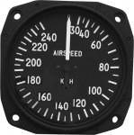 Anémomètre pour ULM, CNRA 30-240 kph, 80 mm