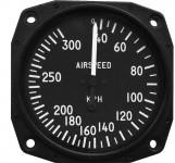 Anémomètre pour ULM, CNRA 40-300 kph, 80 mm