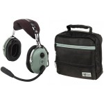 Casque aviation David Clark H10-13.4 + sacoche David Clark