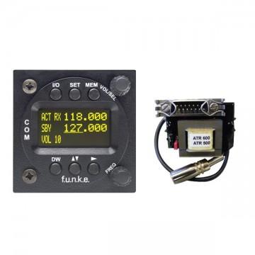 Radio VHF Funke ATR833-2K-OLED + adaptateur