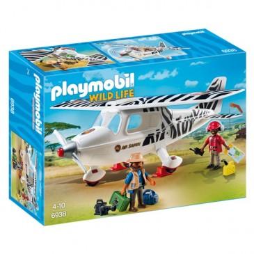 Avion explorateur Playmobil