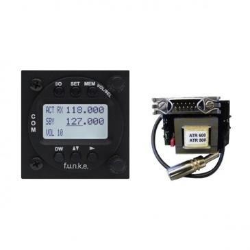Radio VHF Funke ATR833-2K-LCD + adaptateur ATR500/600