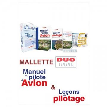 La mallette Duo PPL - Manuel du pilote d'avion 18e édition + Leçons de pilotage 5e édition