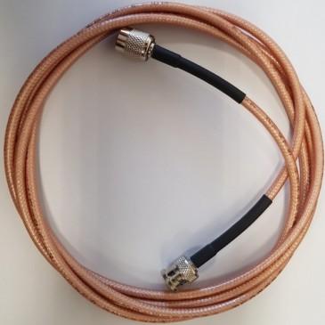 Câble d'antenne RG 400 TNC-BNC