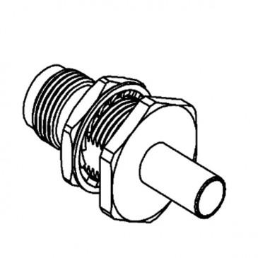 Connecteur TNC, femelle, droit, à sertir RG-58