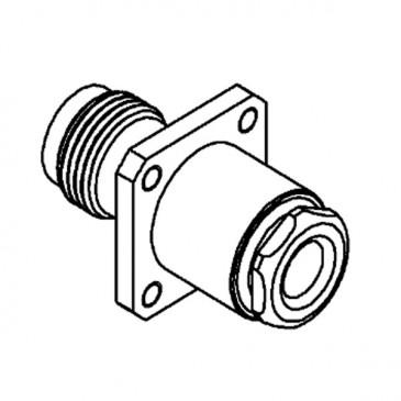 Connecteur TNC, femelle, droit, à souder RG-58, RG-142, RG-400