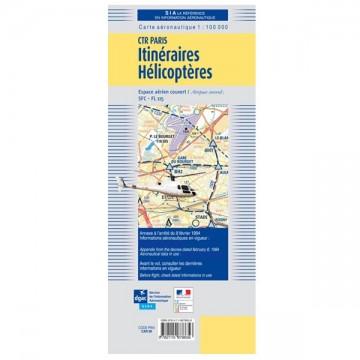 Carte Aeronautique Region Parisienne.Carte Itineraires Helicopteres Region Parisienne 2019