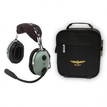 Casque aviation David Clark H10-13.4 + sacoche Design4Pilots