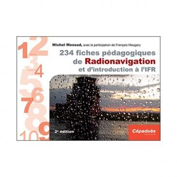 234 fiches pédagogiques - Radionavigation et IFR - 2e éd.