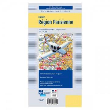 Carte VFR SIA 2020 au 1:250 000 - Paris