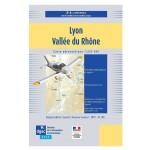 Carte VFR SIA 2020 au 1:250 000 - Lyon, Vallée du Rhône