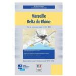Carte VFR SIA 2020 au 1:250 000 - Marseille, Delta du Rhône