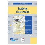 Carte VFR SIA 2020 au 1:250 000 - Strasbourg, Alsace Lorraine