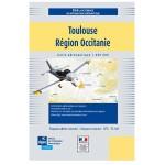Carte VFR SIA 2020 au 1:250 000 - Toulouse, Midi-Pyrénées