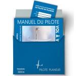 Pochette bleue du Pilote Planeur (+ livret de progression)