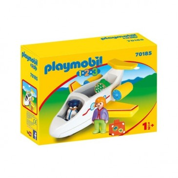 Playmobil 1.2.3 avion de ligne