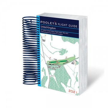 Pooleys United Kingdom Flight Guide 2021