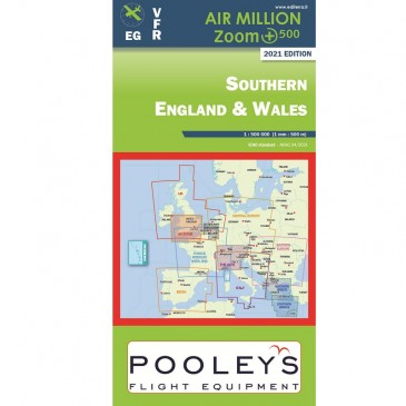 Carte VFR Air Million Southern England & Wales 2021