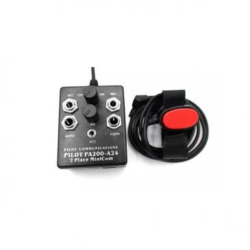 Intercom portable 2 places Pilot PA200-A24