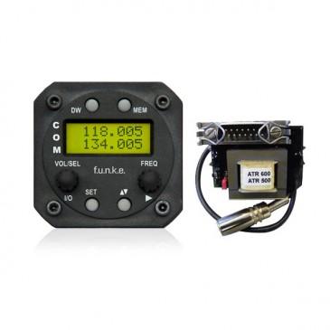 Radio VHF Funke ATR833S + adaptateur ATR500 - ATR833S