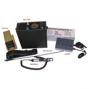 Coffret ballon portable Funke avec radio ATR833LCD