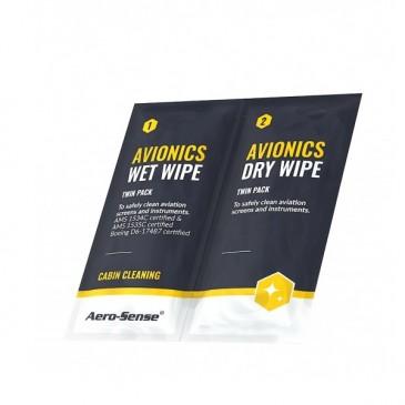 Lingettes de nettoyage Aero-sense Wet & Dry