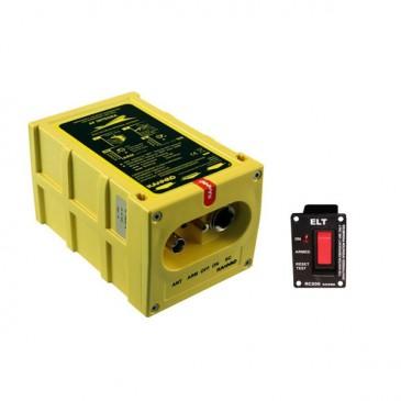 Balise de détresse KANNAD INTEGRA AF + support + RC200 + connecteurs