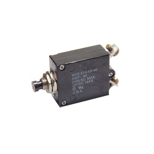 Breaker d'alimentation Tyco Electronics série W23-X1A1G