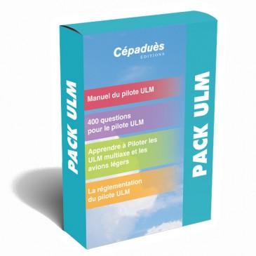 Pack ULM - Manuel du pilote - 4 ouvrages