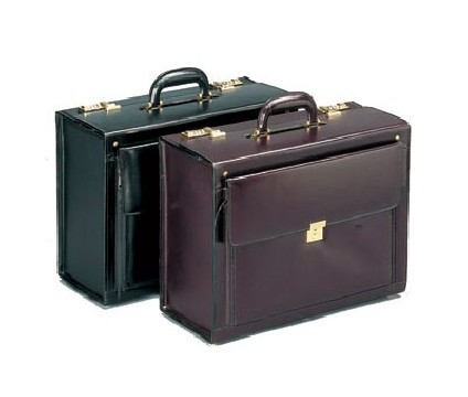 Flight Case en cuir Pooleys