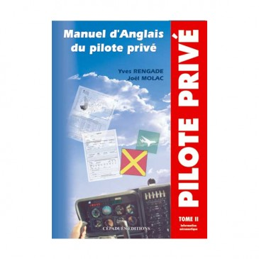 Manuel d'Anglais du pilote privé - Informations aéronautiques