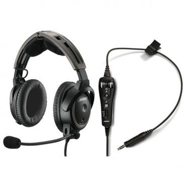 Bose A20 ANR - U174 | sans Bluetooth | Cordon spiralé | Basse impédance