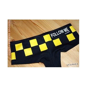 Shorty imprimé follow me
