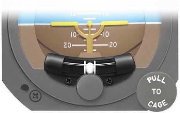 Inclinomètre pour horizon RC Allen - pn 444-0010-01