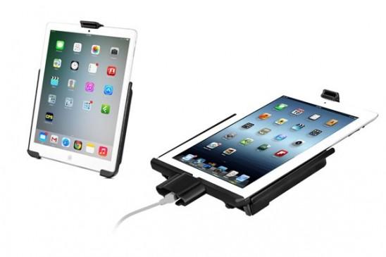 Berceau spécifique RAM Mount pour iPad 2 avec connecteur
