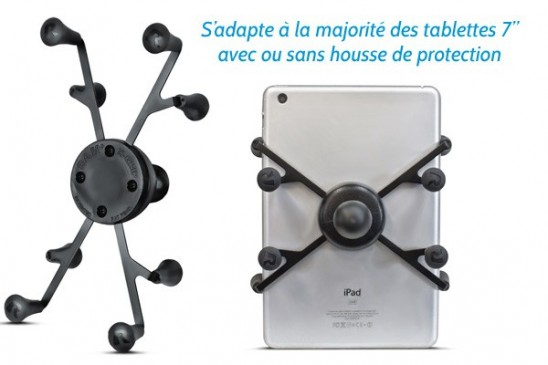 """Berceau universel Ram Mount X-Grip pour tablette 7"""" à 8"""""""