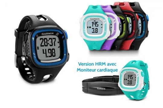 Montre tracker GPS Garmin Forerunner 15