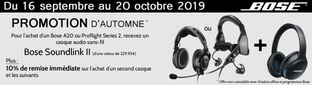 Promotion d'automne Bose